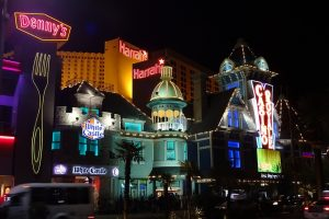 Is moving to Las Vegas for you? Or is it moving to the Strip?