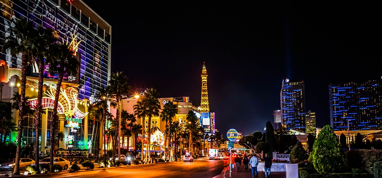 Las Vegas attractions on Las Vegas Strip