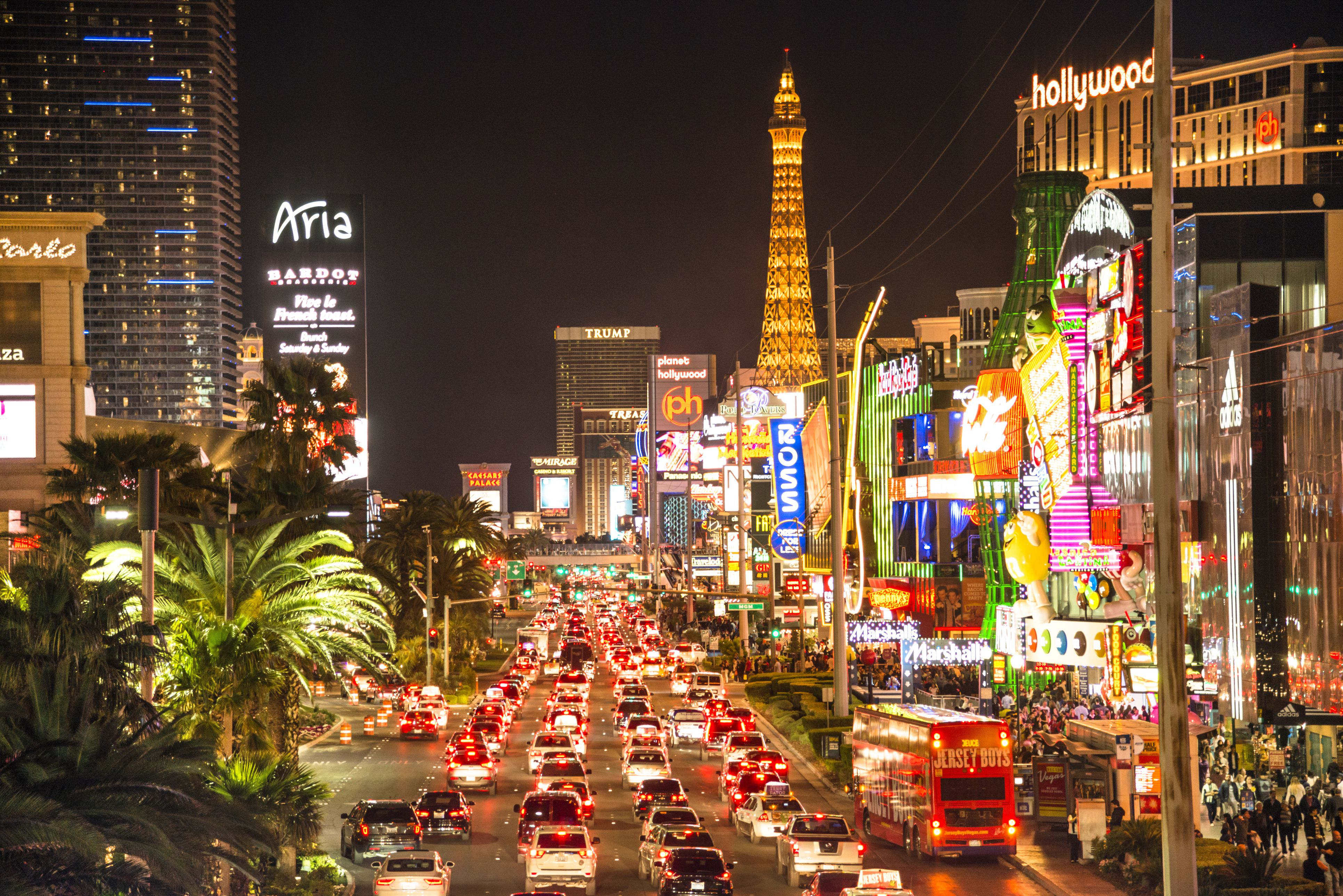 Everybody could become a good croupier in Las Vegas