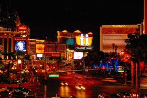 Las Vegas city center, extravagance and glamour on your doorstep