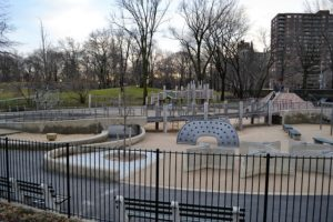 A playground in New York