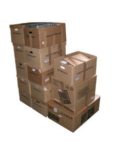 moving boxes to pack and organize your storage unit
