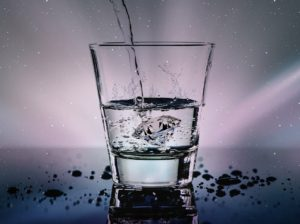Stay hydrated because that helps you bring your body temperature down.