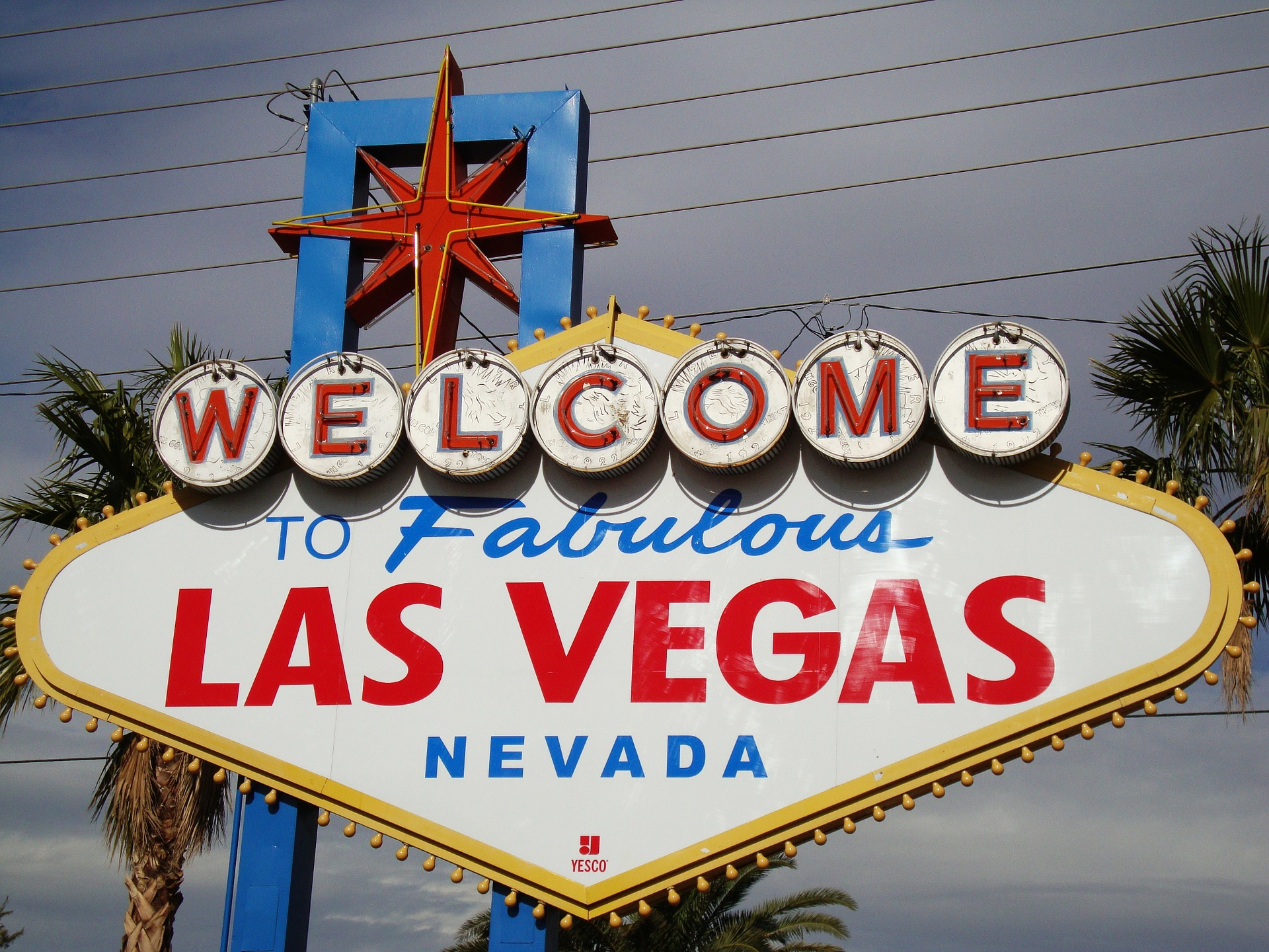 'Welcome to Las Vegas' sign