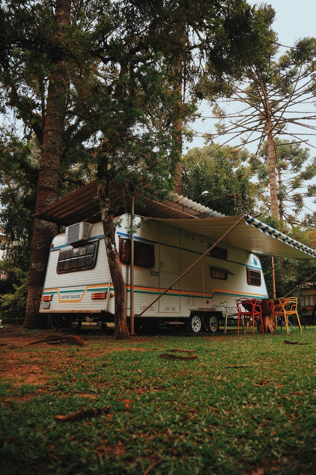 Stationary RV under the tree