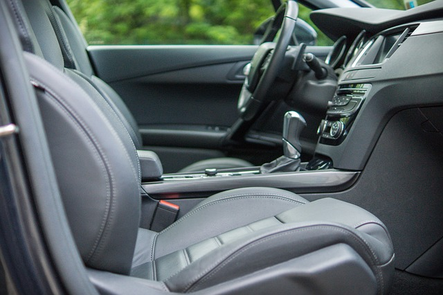 The interior of a car with some things you should have in your car