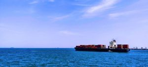 container ship.