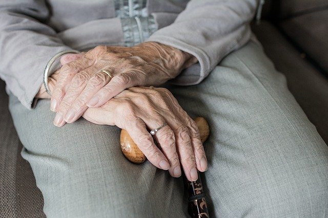 Elderly Hands Woman - Practical home adaptations for the elderly