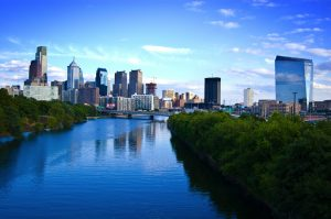 A view of Philadelphia that makes moving to Philly attractive.