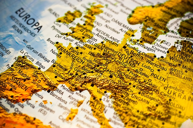 Europe map - Use it to find some of the best European cities Americans are moving to.