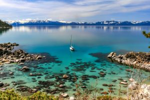 The Nevada shore of Lake Tahoe. Incline Village is among the most senior friendly cities in Nevada thanks to this beauty.